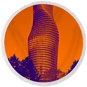 Absolute Tower Round Beach Towel