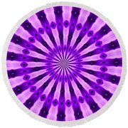 Abstract 122 Round Beach Towel