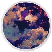 Abstract 277 Round Beach Towel