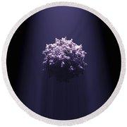 Adeno-associated Virus Round Beach Towel