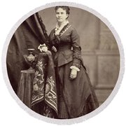 Ann Eliza Young (1844-1925) Round Beach Towel