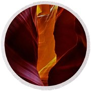 Antelope Canyon - Arizona Round Beach Towel