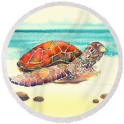 Arrival Round Beach Towel