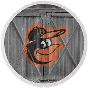 Baltimore Orioles Round Beach Towel