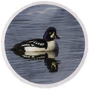 Barrows Goldeneye Round Beach Towel