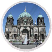 Berliner Dom Round Beach Towel