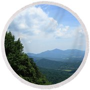 Blue Ridge Mountains - Virginia 5 Round Beach Towel