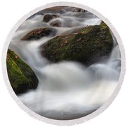Cataracts Round Beach Towel