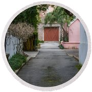 Charleston Alley Round Beach Towel
