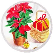 Christmas  Round Beach Towel
