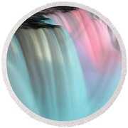 Colors Round Beach Towel