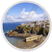 Cornwall - Port Isaac Round Beach Towel