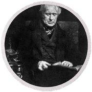 David Brewster (1781-1868) Round Beach Towel