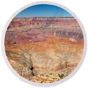 Desert View Grand Canyon National Park Round Beach Towel