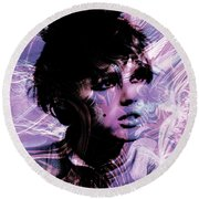 Edie  Round Beach Towel