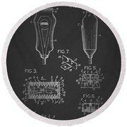 Electric Razor Patent 1940 Round Beach Towel
