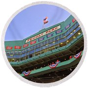 Fenway's 100th Round Beach Towel