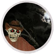 Fright Night 1 Round Beach Towel