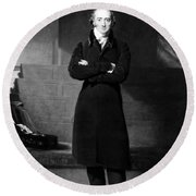 George Canning (1770-1827) Round Beach Towel