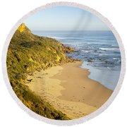 Great Ocean Road Round Beach Towel