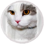 Handsome Round Beach Towel