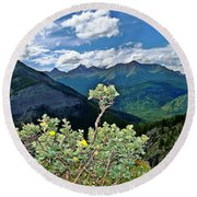 Hardy Shrub Round Beach Towel