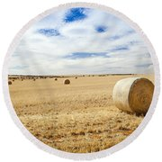 Harvest Round Beach Towel