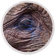 How About Memories Round Beach Towel