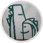 Hugs - Tile Round Beach Towel