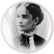 Ida Mckinley (1847-1907) Round Beach Towel