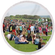 Jack In The Green Festival 2014 Round Beach Towel