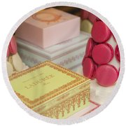 Laduree Sweets Round Beach Towel