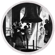 Liberty Bell, 1776 Round Beach Towel
