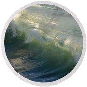 Linda Mar Beach - Northern California Round Beach Towel
