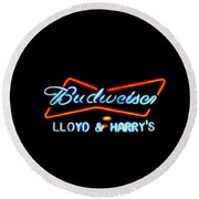 Lloyd And Harry's Round Beach Towel