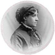 Louisa May Alcott (1832-1888) Round Beach Towel