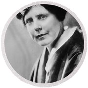 Lucy Burns (1879-1966) Round Beach Towel