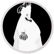 Martha Jefferson Randolph (1772-1836) Round Beach Towel