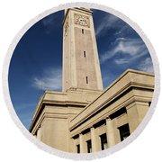 Memorial Tower - Lsu Round Beach Towel