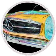 Mercedes Benz Round Beach Towel