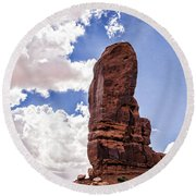 Monument Valley - Arizona Round Beach Towel
