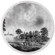 Mount Vernon, 1798 Round Beach Towel