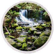 Mt Field National Park Round Beach Towel