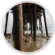 New Photographic Art Print For Sale Paradise Cove Round Beach Towel