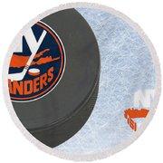 New York Islanders Round Beach Towel