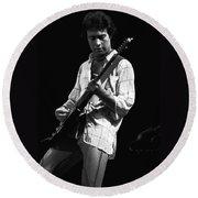 Paul In Spokane 1977 Round Beach Towel