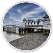 Penarth Pier 1 Round Beach Towel