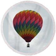 Rainbow Balloon Round Beach Towel