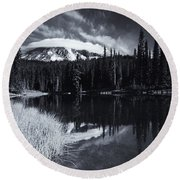 Rainier Capped Round Beach Towel