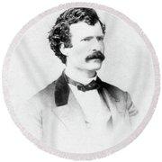 Samuel Langhorne Clemens (1835-1910) Round Beach Towel
